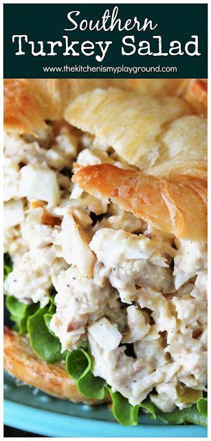 Photo of Southern Turkey Salad ~ Take those leftover turkey sandwiches up a notch & make …