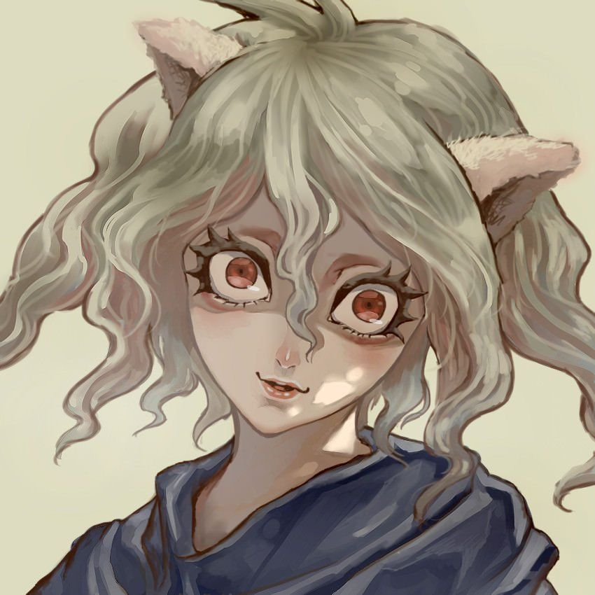 I Like How Pitou Could Be Cute And Creepy At The Same Time Hunterxhunter Hunter X Hunter Animal Ears Creepy