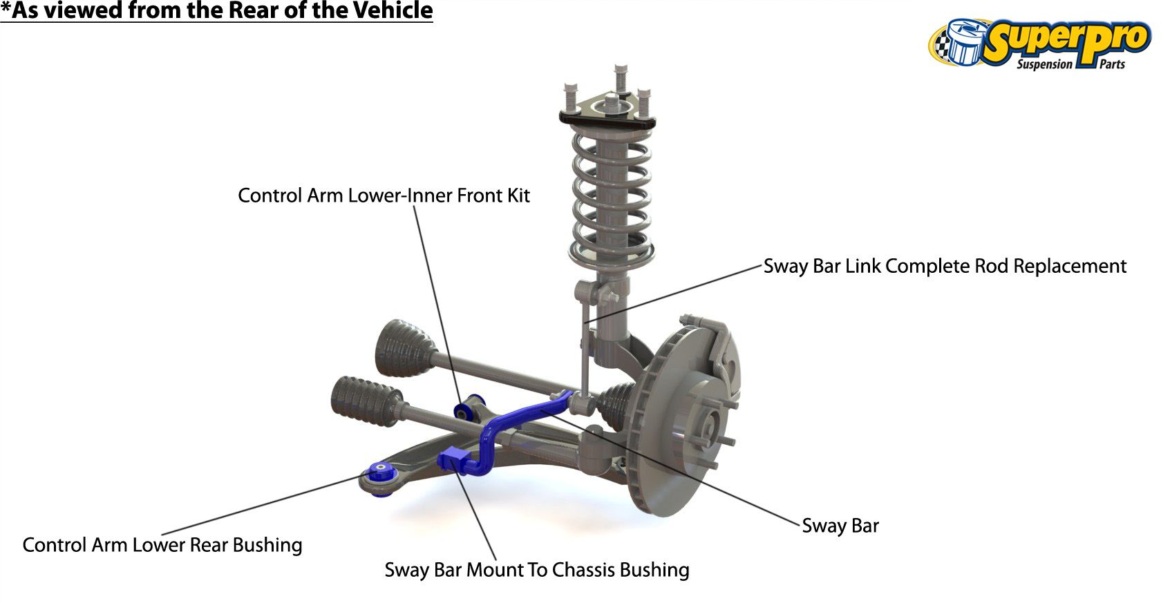 medium resolution of front suspension diagram for subaru impreza wrx sti gv 2007 2011