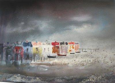 British Artist Colin KENT - Gathering Clouds