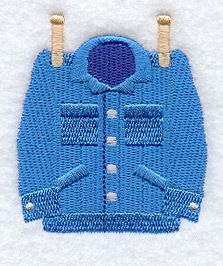 Clothesline - Jacket design (A3744) from www.Emblibrary.com