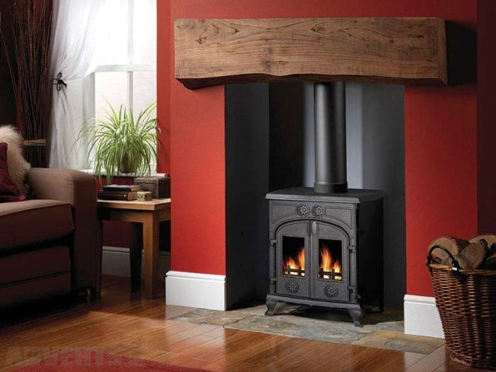 how to heat a house with a fireplace
