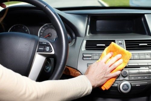 Cleaning The Center Console Of Your Car Car Cleaning Wash Car