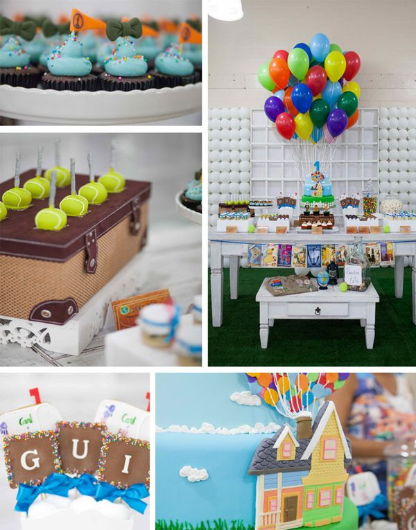 Up Birthday Party with Lots of Ideas via Kara's Party Ideas |  FREE House template link