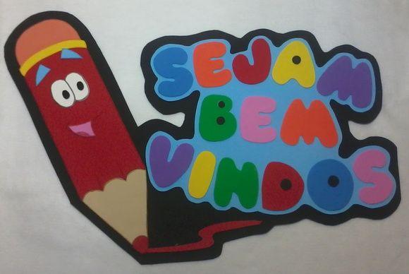 Projeto Painel De Boas Vindas Natal Com Imagens Decoracao De