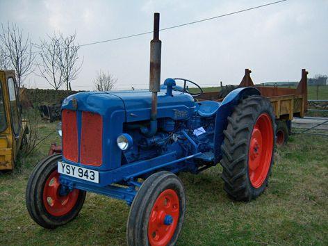 Fordson Major - Vintage Tractor (Location: UK) For sale on