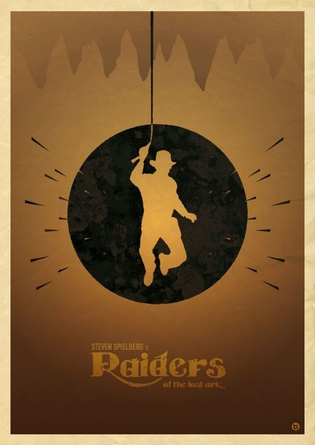 Raiders Of The Lost Ark Carteles De Cine Minimalistas Poster De Cine Carteles Minimalistas De Peliculas