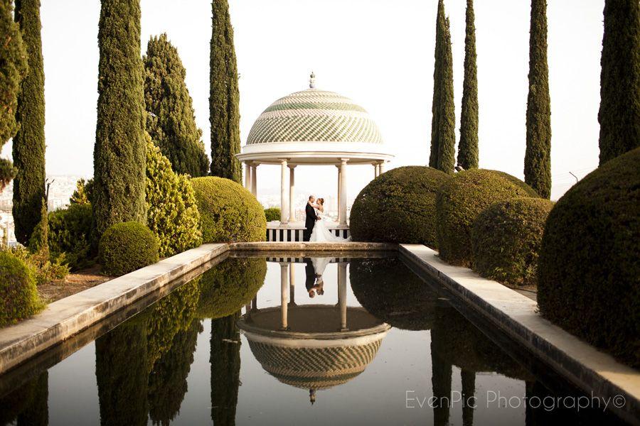 Fot grafo de bodas fotoperiodismo de boda con fotografias for Bodas jardin botanico malaga