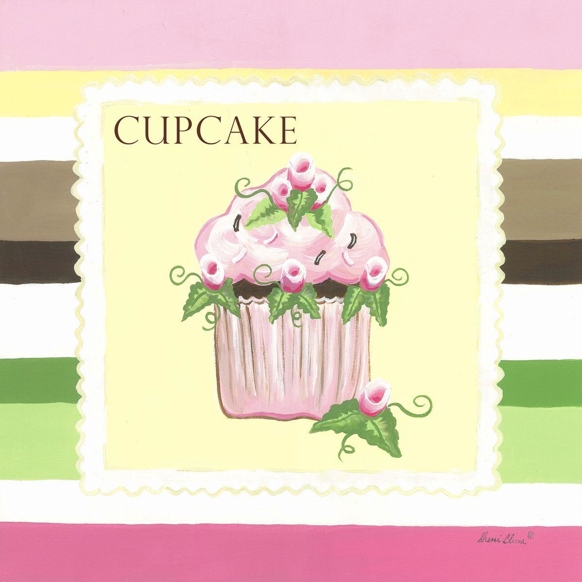Sweet Treat Cupcake | Canvas Wall Art | Canvases and Products