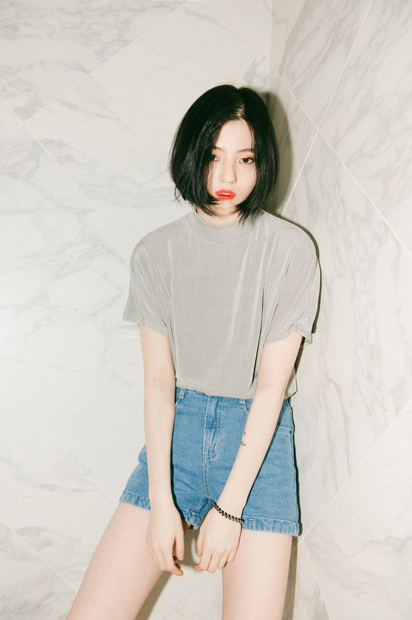 Koreanstyle Koreanfashion Ulzzang Short Hair Pinterest The Shorts Korean