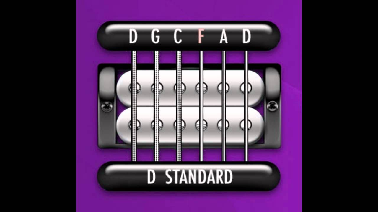 Perfect Guitar Tuner D Standard D G C F A D Youtube Guitar Tuners Guitar Tuning Acoustic Guitar