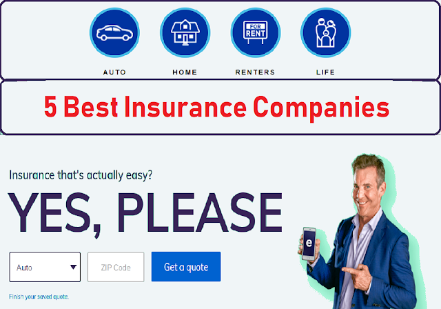 Top 5 Best Insurance Companies For Insurance Quote Online Https