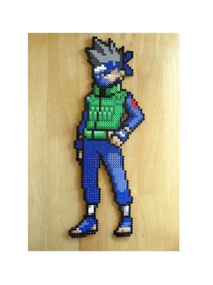 pixel art kakashi