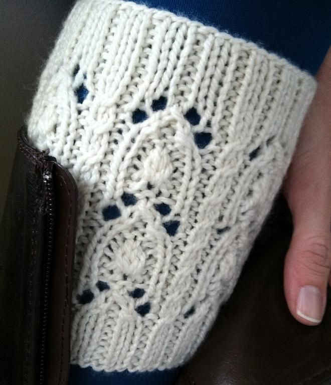 Darby Boot Cuffs by designer wneal36. | knitknitknit | Pinterest ...