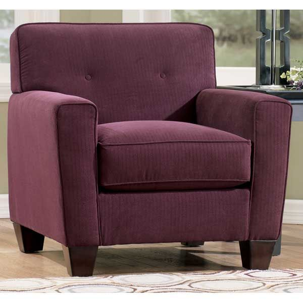 American Furniture Warehouse    Virtual Store    Eggplant Chair