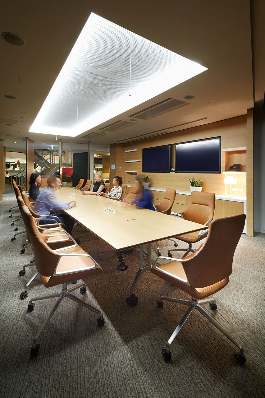Conference Room Lighting Design: Davenport Campbell