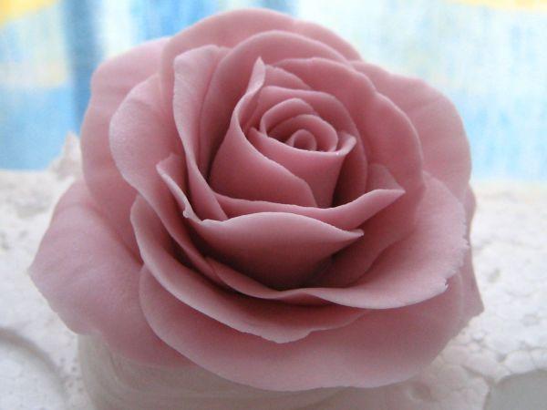 Aprenda A Fazer Rosas C Pasta Americana Bem Facil Rosas De
