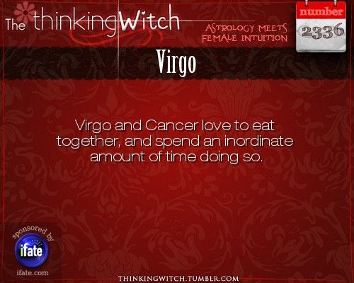 Thinking Witch Virgo Fact for today