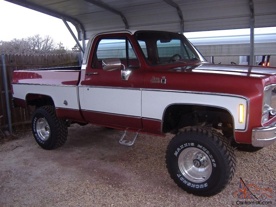 1978 gmc k15 | 1978 GMC Sierra Grande K15 4X4 Short bed pickup ...