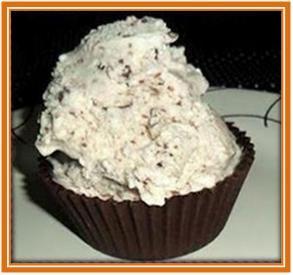 No meu apartamento...: Cupcake de sorvete