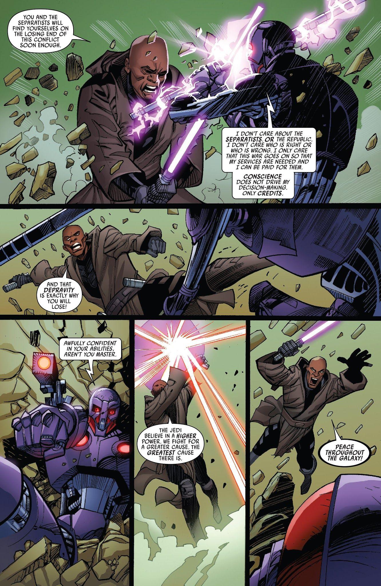 Star Wars: Mace Windu Issue #2 - Read Star Wars: Mace Windu