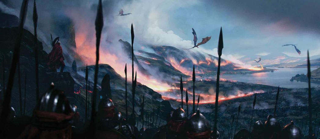 Image result for valyria asoiaf art