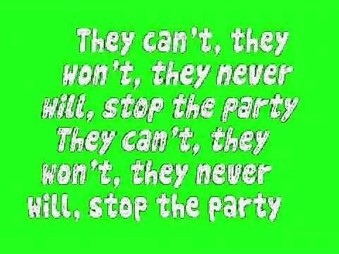Don T Stop The Party Lyrics Music Lyrics Songs