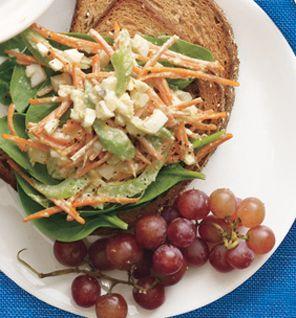 Tuesday Lunch: Egg Salad Sandwich