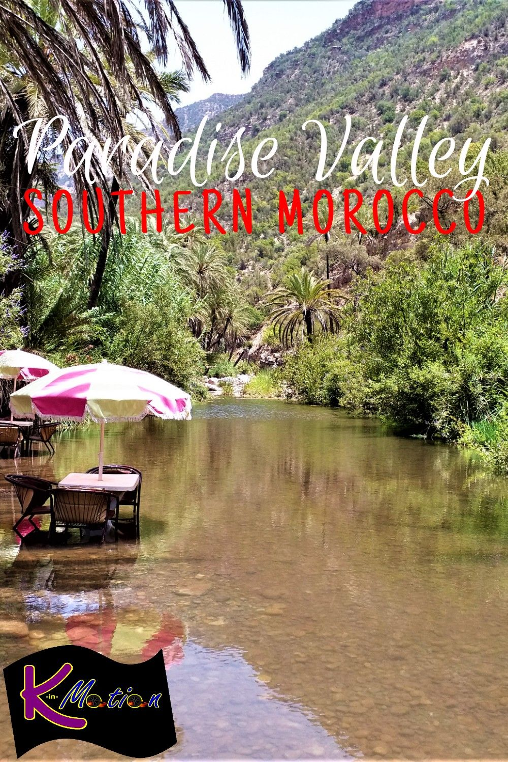 Visit an oasis in Southern Morocco! #africa #morocco #oasis #paradisevalley #budgettravel #budget #travel
