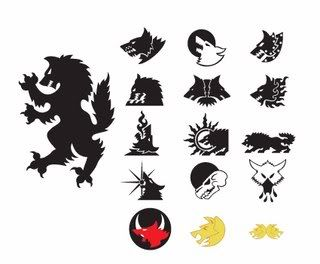 Space Wolves Great Company Symbols | Neat tattoos ...