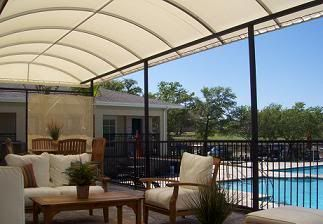 Retractable Sail Awnings