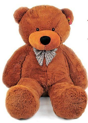 Hot Giant 80 Big Plush Teddy Bear Huge Soft 100 Cotton Toy Three Color Free By Oem Http Www Amazon C Teddy Bear Stuffed Animal Teddy Bear Huge Teddy Bears
