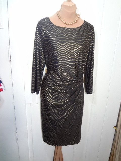 f4d0d3c97b3 Talbots New With Tag 3 4 Sleeve Side Ruch Stretchy Sz Medium Dress. Free  shipping and guaranteed authenticity on Talbots New With Tag …