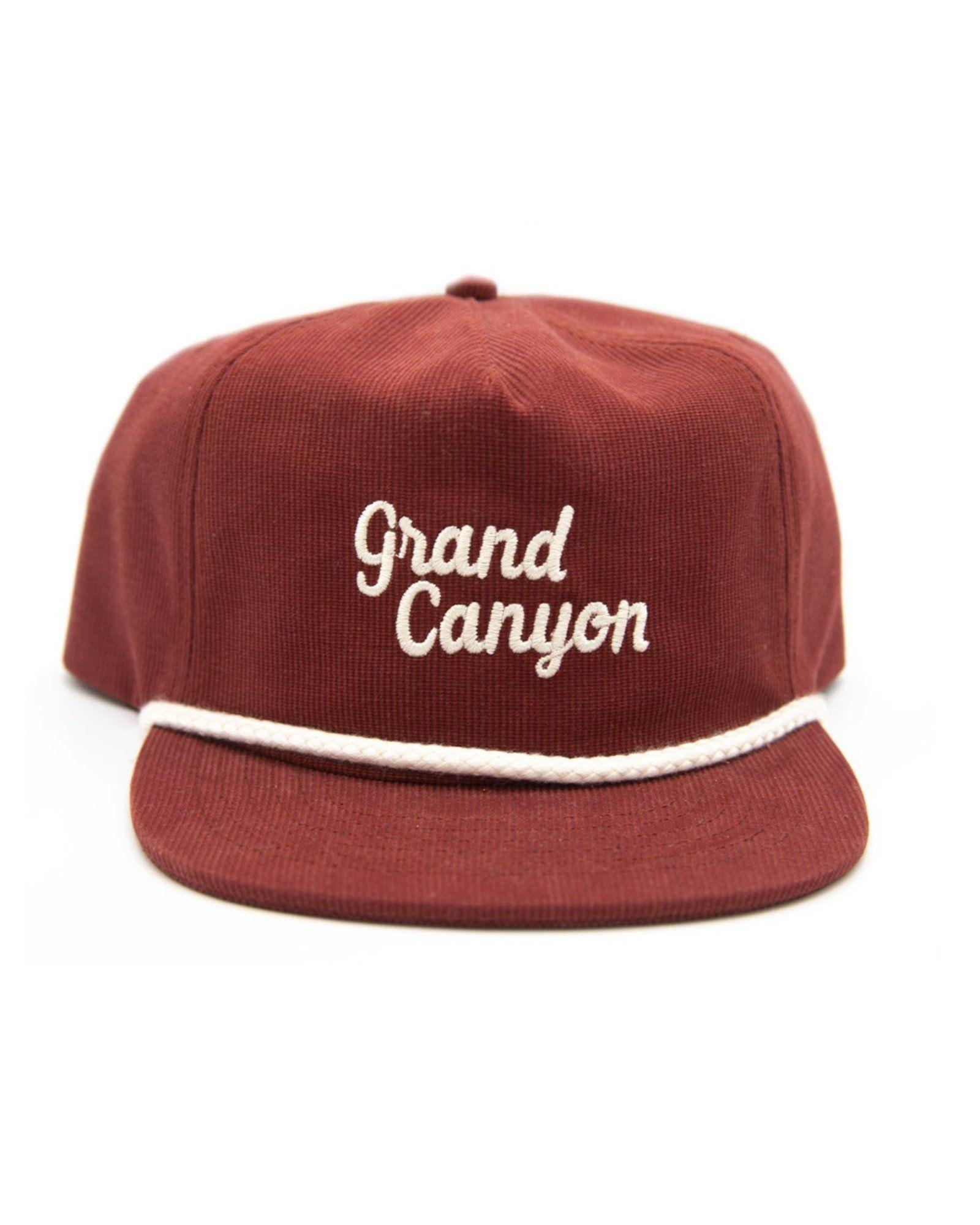 Grand Canyon Throwback Cord Hat #grandcanyon