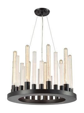 Skyline 9-Light LED Chandelier from Updated-Industrial Furniture