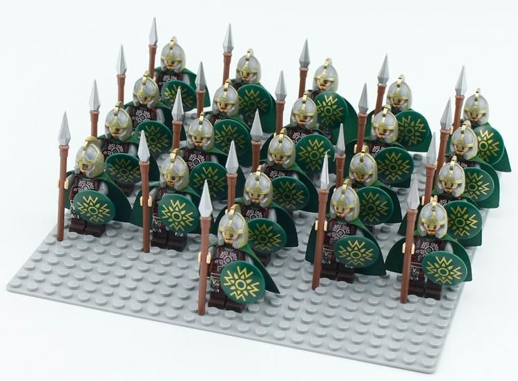 21Pcs//Lot Game Of Thrones The Archer Spear Infantry Army Lego Moc Minifigure