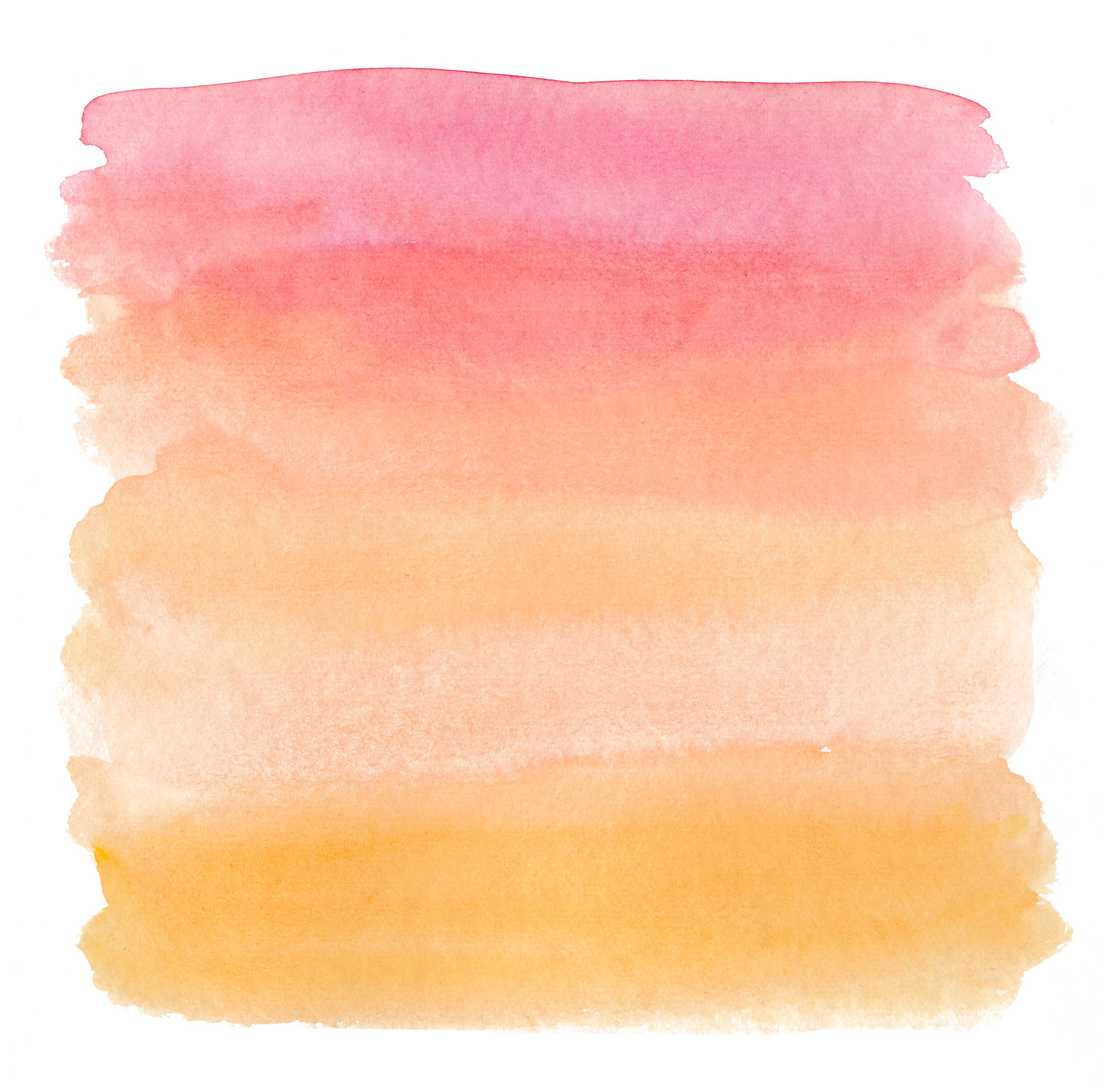 Premier Orange Pink Watercolor Background Watercolor Ombre