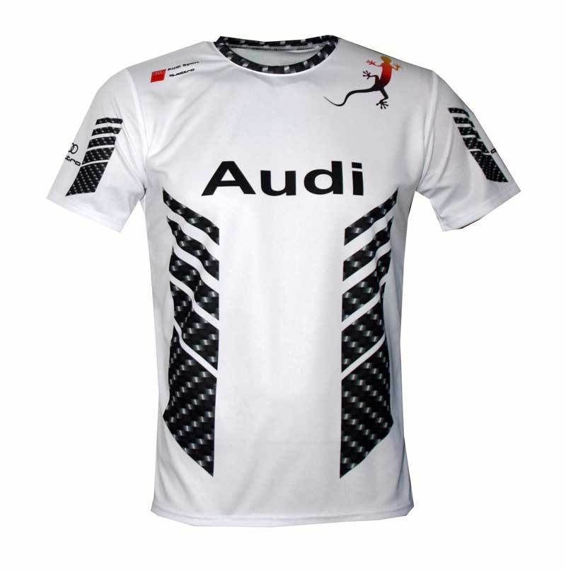 AUDI SPORT S-LINE Full Sublimation Print T-shirt Maglietta Camiseta S3 S4  RS5 S6  AMFANWAR  GraphicTee 603780244ef3