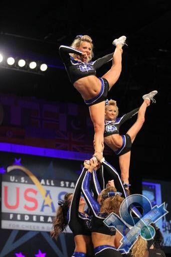The Cheerleading Worlds Cheer Stunts Cheerleading Competition