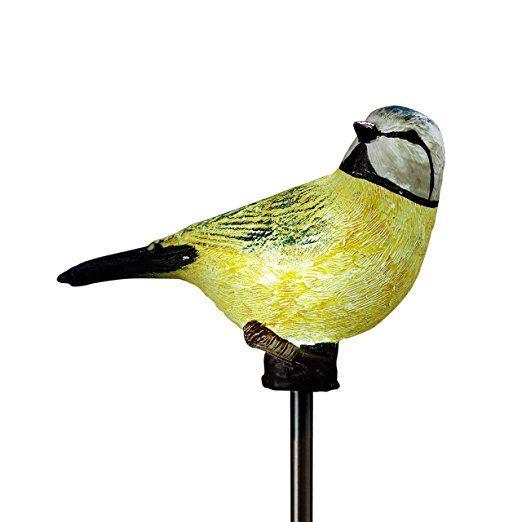 Solar Gartenstecker Vogel Motiv Nr 3 Beleuchtung Deko Garten 13012