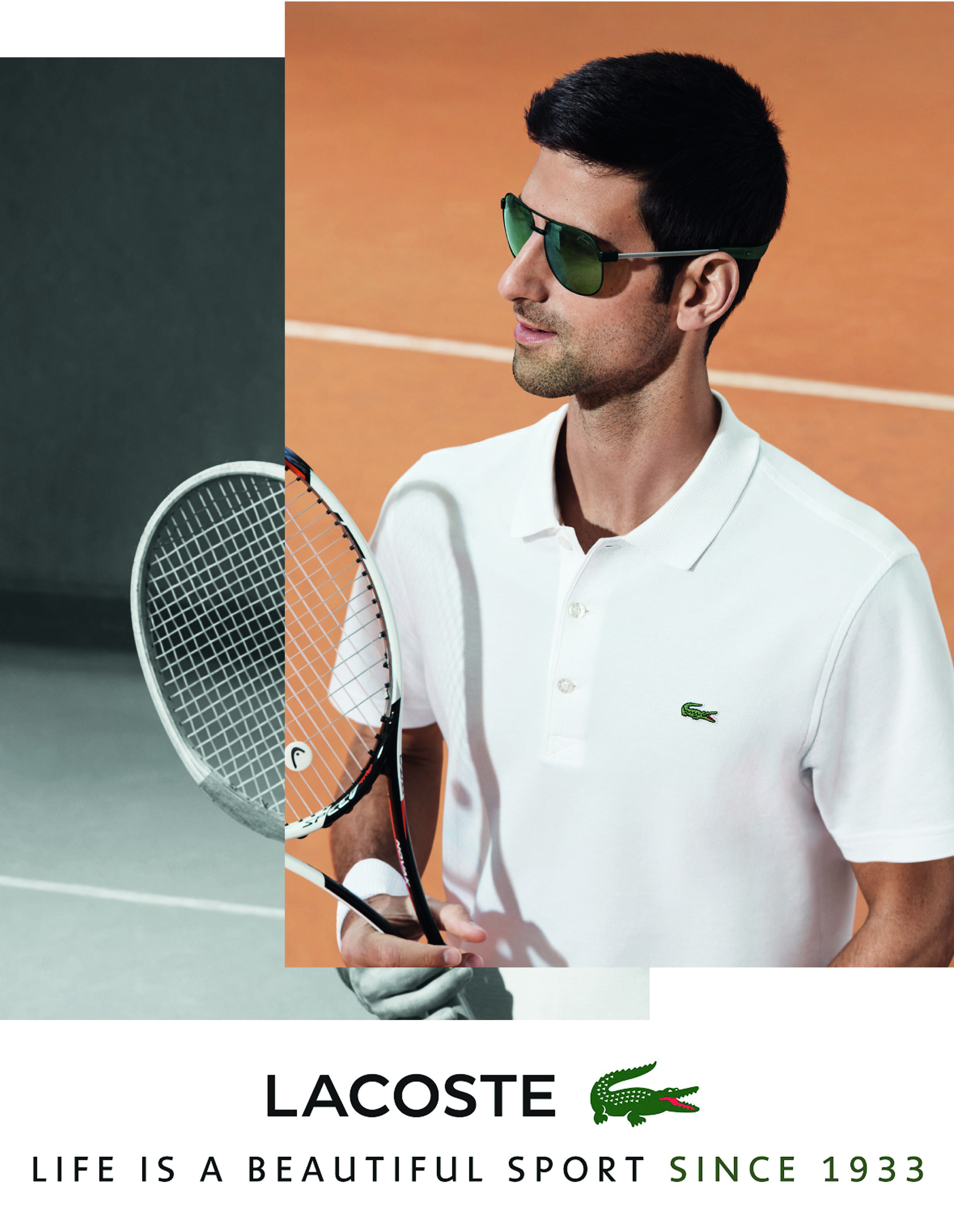 645ca26aa33 Lacoste Magnetic Lock Sunglasses. Worn by Novak Djokovic. Lens by ZEISS.   AlMokhtar