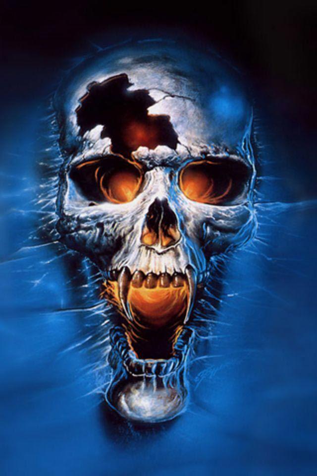 The Gallery For Ghost Rider Skull Wallpaper