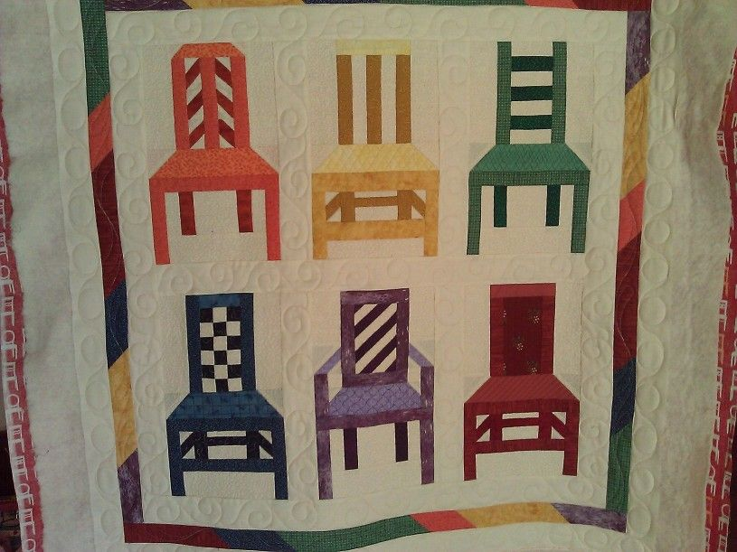 A Chair Quilt Quilts Summer Quilts Wall Hanging