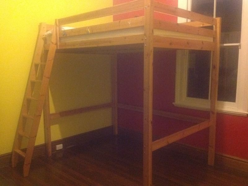 Ikea Loft Bed Queen Size Beds Gumtree Australia Vincent Area