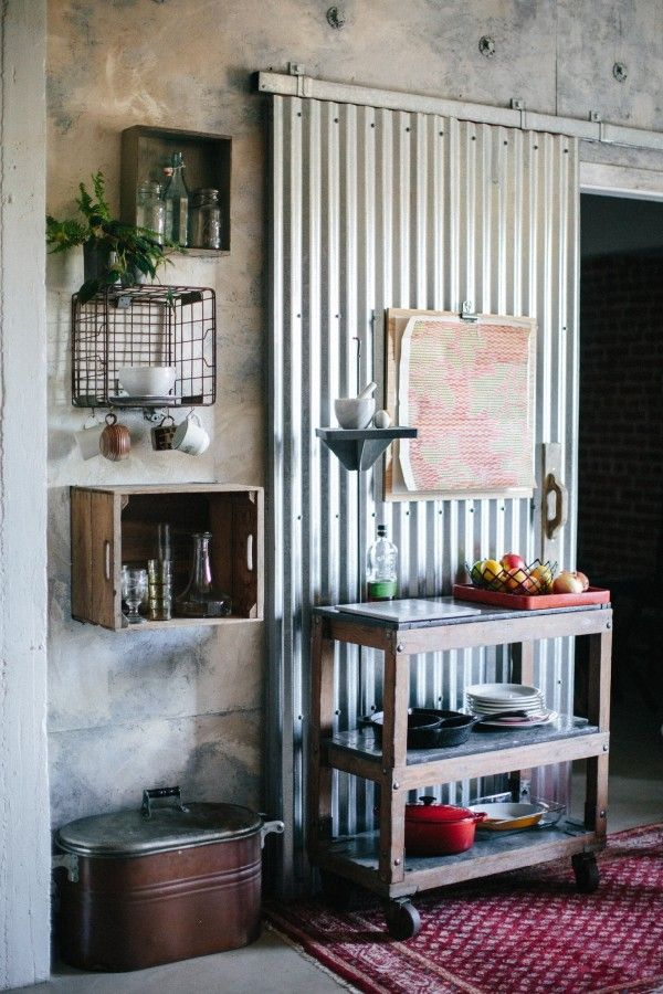 The 7 secrets stylists use to give upcycled interiors a sophisticated edge is part of Industrial furniture Sliding Doors - Upcycled interiors with salvaged and recycled furniture look great, but it's not an easy look to achieve  Learn the 7 secrets stylists use to get it right