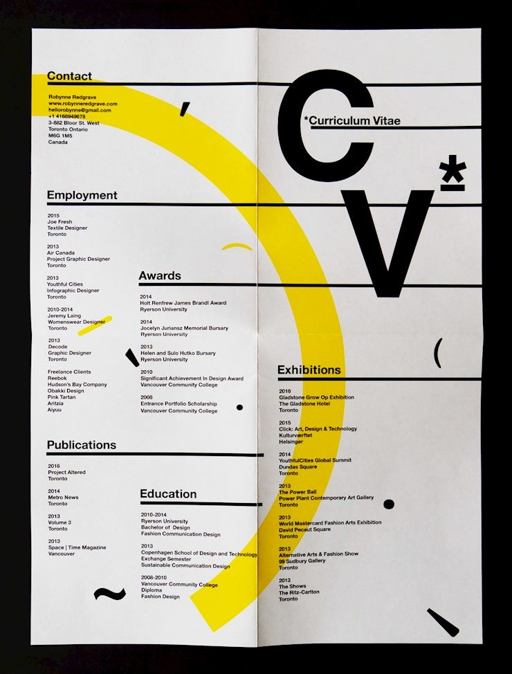 70 Creative Beautiful Resume Examples To Get Inspired Graphic Design Resume Resume Design Creative Creative Cv