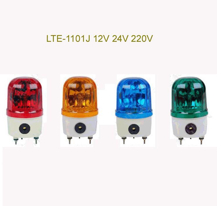 Industrial Ac220v Dc12v Dc24v Red Yellow Blue Green Led Blinking Revolving Warning Light Signal Tower Lamp N 1101 Green Led Warning Lights Home Appliances