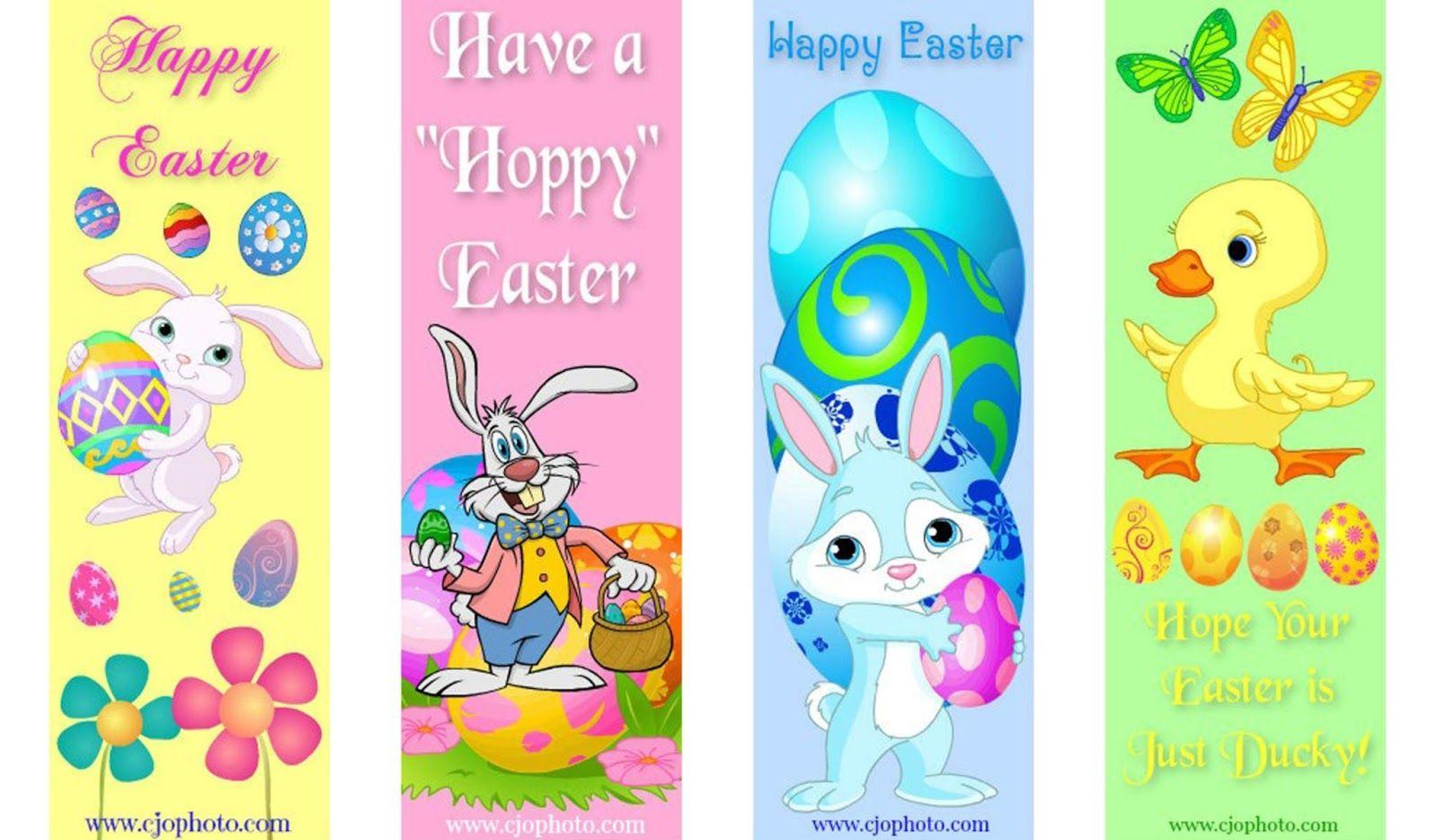 Printable Bookmarks Easter Easter Printables Free Bookmark Card Free Printable Bookmarks