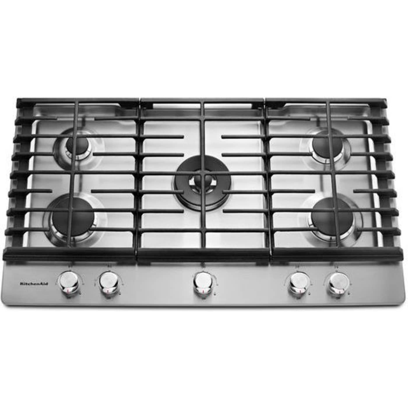 Kcgs556ess By Kitchenaid Natural Gas Cooktops Goedekers Com Kitchen Aid Appliances Stove Stainless Steel