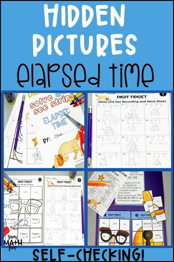 Elapsed Time Worksheets and Activities